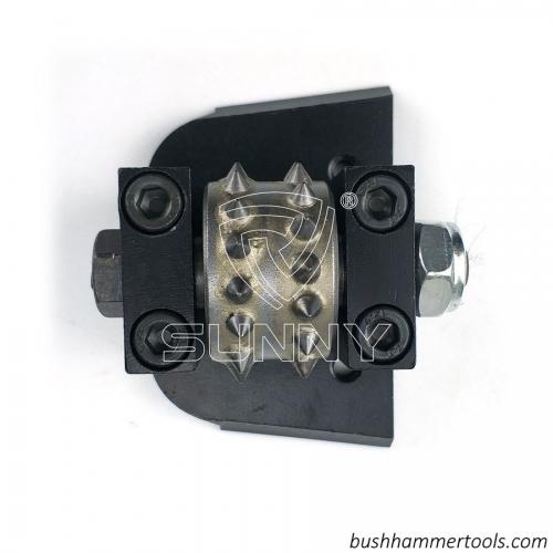 Premium Lavina Trapezoid  Bush Hammer Plate For Coarse Grinding The Concrete